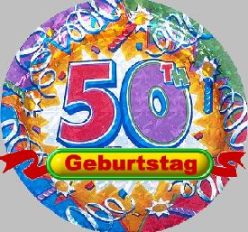 50 Geburtstag Spruch kostenlos