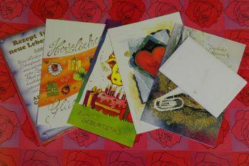 glückwunschspruch lustige Verse für Karten