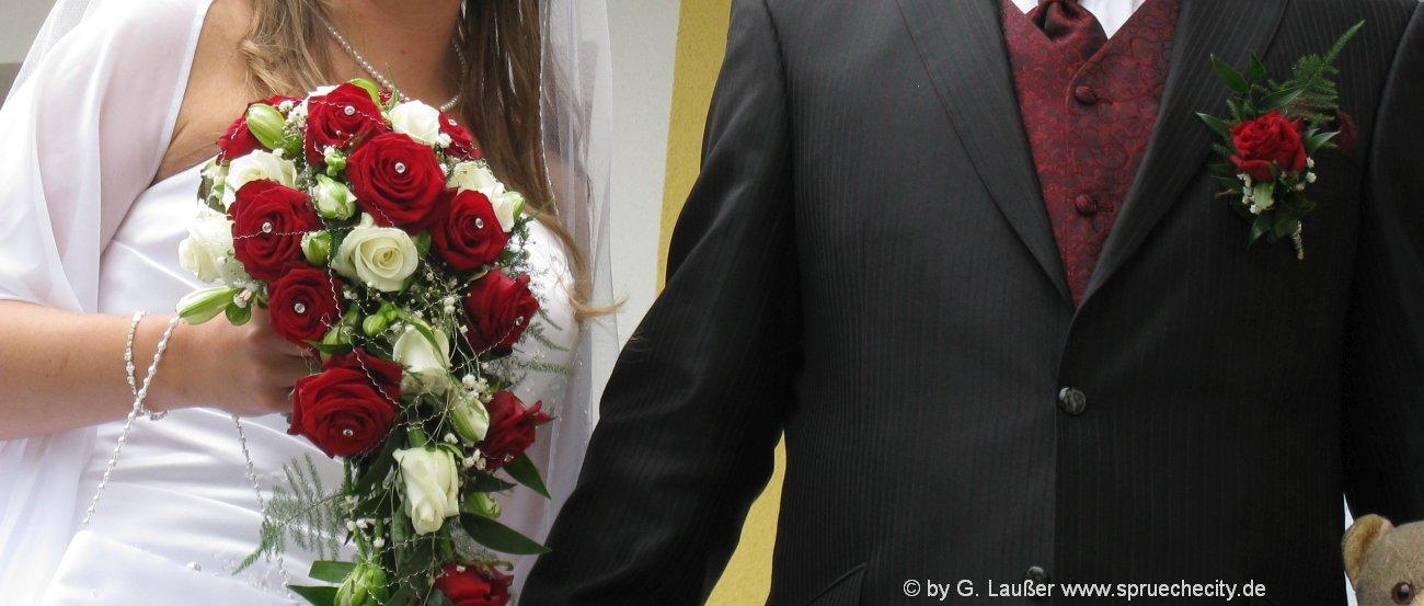 Sprüche zur Hochzeit Glückwünsche und Gratulation